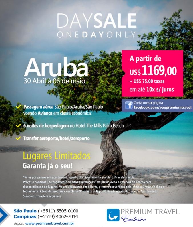 Aruba é com a Premium Travel