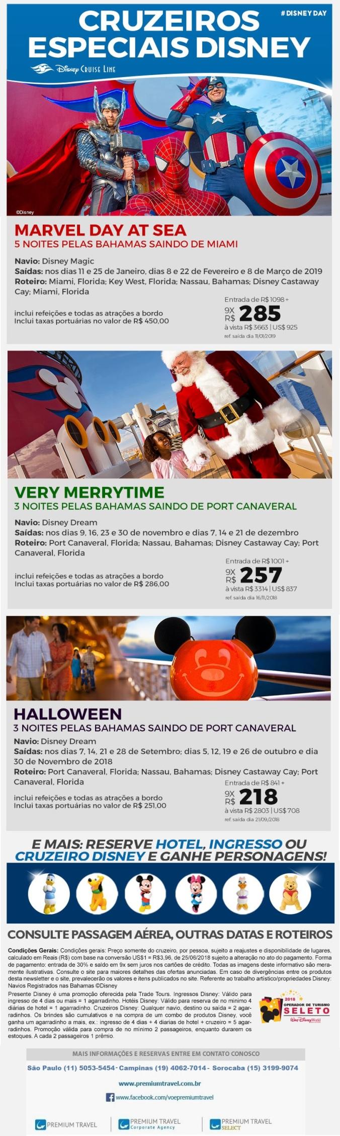 Cruzeiros Especiais Disney Cruise Line